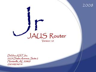 JAUS   Router