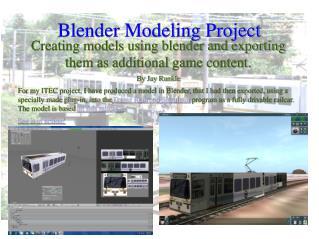 Blender Modeling Project