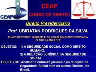 CEAP CURSO DE DIREITO