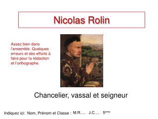 Nicolas Rolin