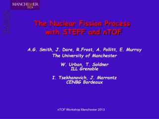 The Nuclear Fission Process  with STEFF and nTOF