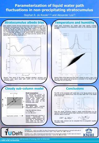 Parameterization of liquid water path fluctuations in non-precipitating stratocumulus