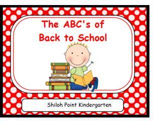 Shiloh Point Kindergarten