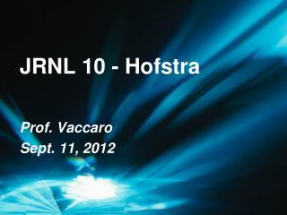 JRNL 10 - Hofstra