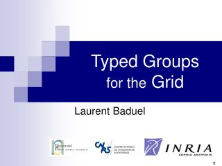 Typed Groups for the  Grid