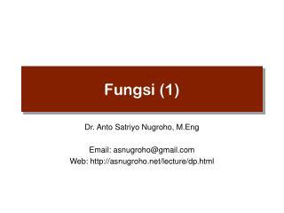 Fungsi (1)