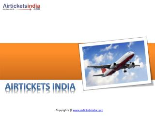 Air Tickets India- Cheap Flights Tickets