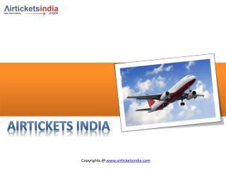 Air Tickets India- Cheap Flights Tickets