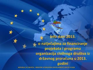 Info dani 2013.