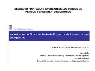 SEMINARIO FIAP- UAFJP: INVERSION DE LOS FONDOS DE PENSION Y CRECIMIENTO ECONOMICO