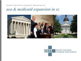 aca & medicaid expansion in sc