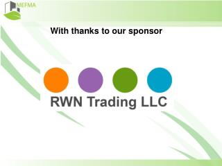 With thanks to our sponsor
