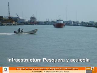 Infraestructura Pesquera y acuícola