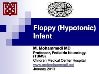 Floppy (Hypotonic) Infant