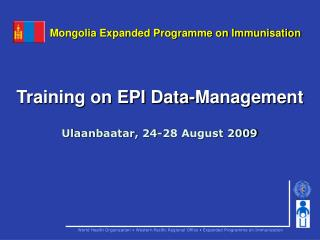 Training on EPI Data-Management
