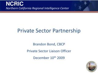 Private Sector Partnership