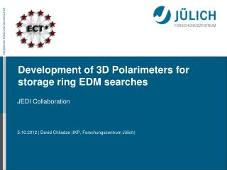 Development of 3D Polarimeters for storage ring EDM searches