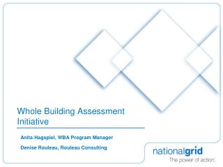 Whole Building Assessment Initiative