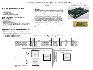 Reconfigurable Open Architecture  Computing Hardware (ROACH board
