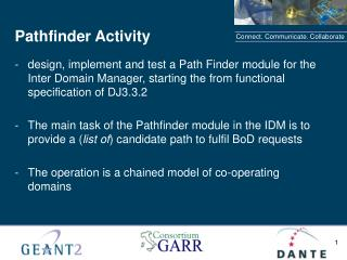 Pathfinder Activity