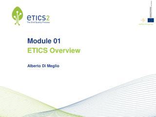 Module 01 ETICS Overview