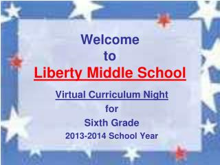 Welcome to Liberty Middle School