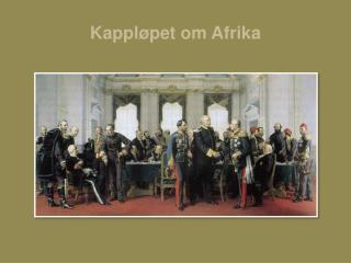 Kappl pet om Afrika