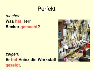 Perfekt