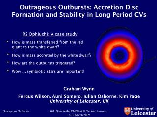 Outrageous Outbursts: Accretion Disc Formation and Stability in Long Period CVs