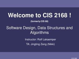 CIS 068