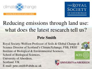Reducing emissions through land use: what does the latest research tell us?
