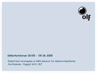 Sikkerhetsforum 02/05 - 09.06.2005