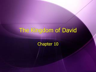 The Kingdom of David