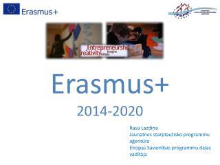 Erasmus+  2014-2020