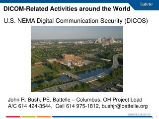 DICOM-Related Activities around the World