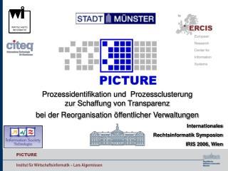 Prozessidentifikation und  Prozessclusterung  zur Schaffung von Transparenz