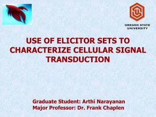 USE OF ELICITOR SETS TO CHARACTERIZE CELLULAR SIGNAL TRANSDUCTION