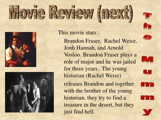This movie stars :