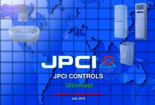 JPCI CONTROLS Ultimheat