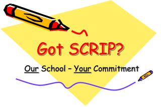 Got SCRIP?