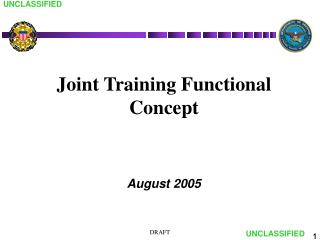 Joint Training Functional Concept