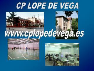 CP LOPE DE VEGA