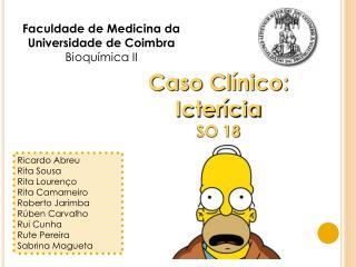 Faculdade de Medicina da Universidade de Coimbra Bioqu mica II