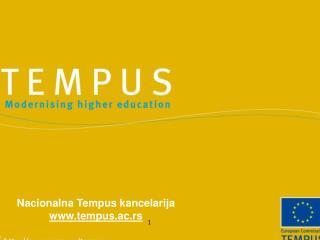 Nacionalna Tempus kancelarija tempus.ac.rs