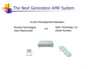 The Next Generation AMR System