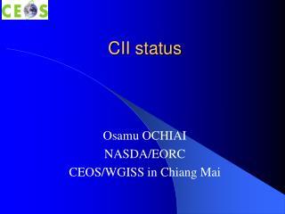 CII status