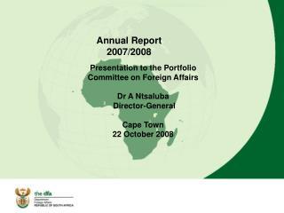 Annual Report 2007/2008