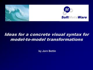 Ideas for a concrete visual syntax for model-to-model transformations