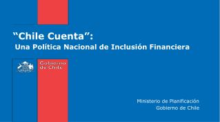 �Chile Cuenta�: