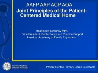 Patient Centric Primary Care Roundtable